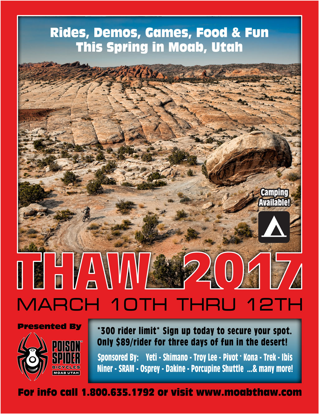 2017 Thaw Poster